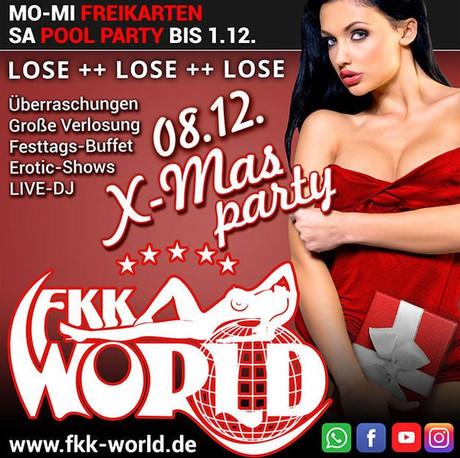 Xmas Party FKK World im Sauna / FKK Club FKK World Pohlheim/Gießen (D) in  Pohlheim-Garbenteich