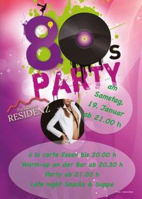 80's Party im Sauna / FKK Club Parksauna Residenz Lohmar/Köln (D) in Lohmar-Durbusch