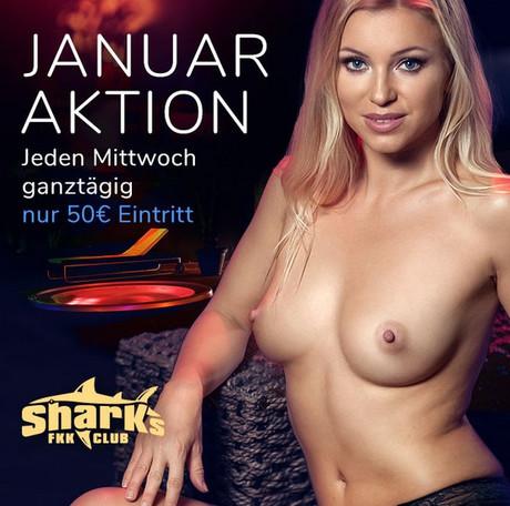 Mittwoch Special im Sauna / FKK Club FKK Sharks Darmstadt/Frankfurt (D) in Darmstadt