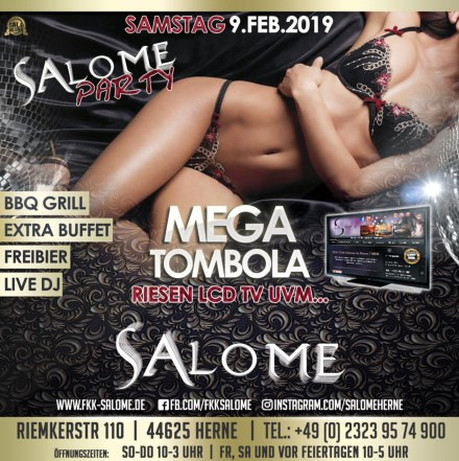 Salome Party im Sauna / FKK Club Salome Herne (D) in Herne