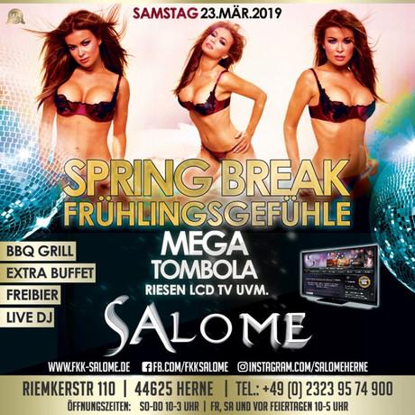 Spring Break im Sauna / FKK Club Salome Herne (D) in Herne