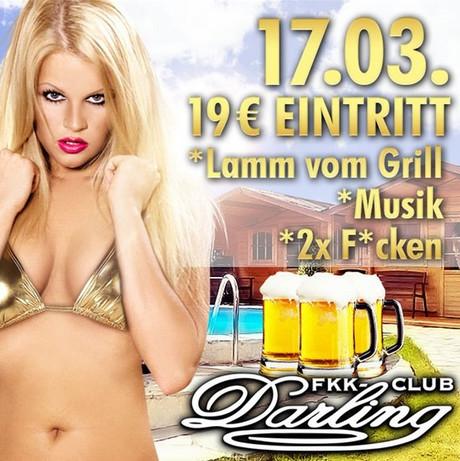 Lamm vom Grill im Sauna / FKK Club FKK Darling Nidderau/Frankfurt (D) in Nidderau