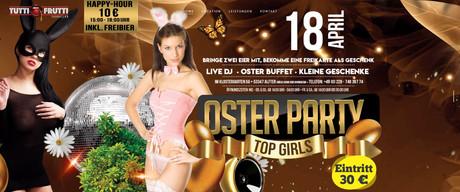 Osterparty Tutti Frutti im Sauna / FKK Club Tutti Frutti Alfter/Bonn (D) in Alfter