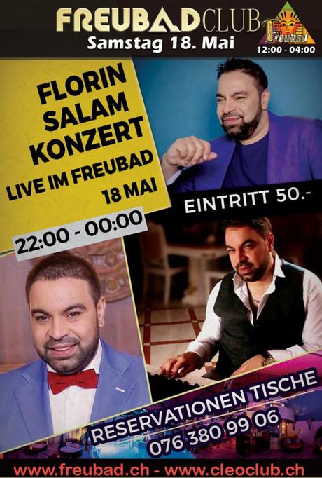 Florin Salam live im Sauna / FKK Club FKK Freubad Recherswil (CH) in Recherswil