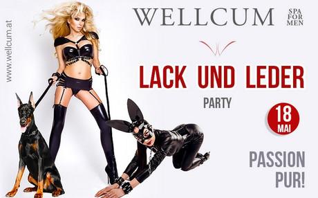Lack & Leder Party im Sauna / FKK Club Wellcum Hohenthurn/Villach (A) in Hohenthurn