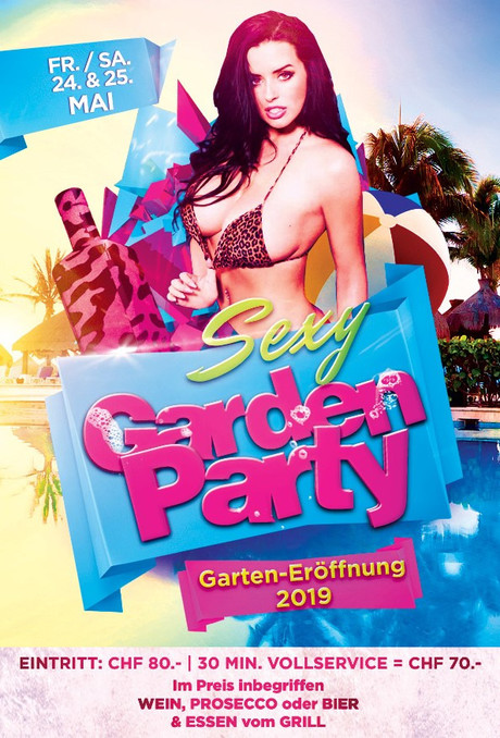 Sexy Garden Party im Sauna / FKK Club New Blue-Up Pfäffikon (CH) in Pfäffikon ZH