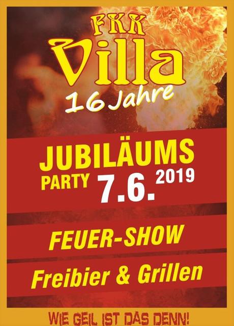 16th Birthday Party im Sauna / FKK Club FKK Villa Hannover (D) in Hannover