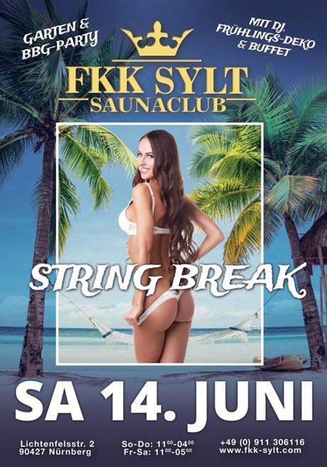 String Break im Sauna / FKK Club FKK Sylt Nürnberg (D) in Nürnberg