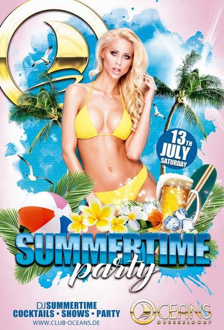 Summertime Party im Sauna / FKK Club Oceans Düsseldorf (D) in Düsseldorf
