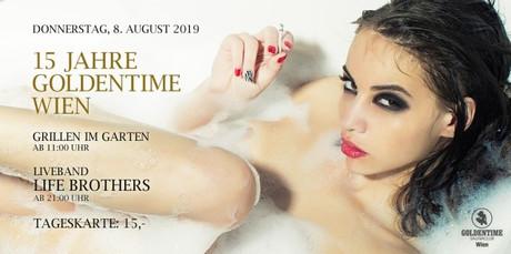 15th Birthday Party im Sauna / FKK Club FKK Goldentime Wien (A) in Wien