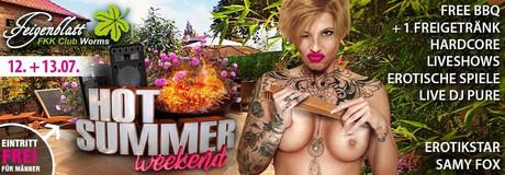 Hot Summer Weekend im Sauna / FKK Club FKK Feigenblatt Worms (D) in Worms