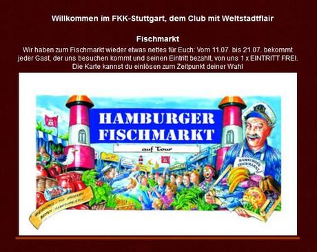 Fischmarkt Special im Sauna / FKK Club FKK Phönix Stuttgart (D) in Stuttgart