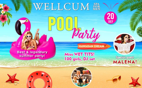 Pool Party im Sauna / FKK Club Wellcum Hohenthurn/Villach (A) in Hohenthurn