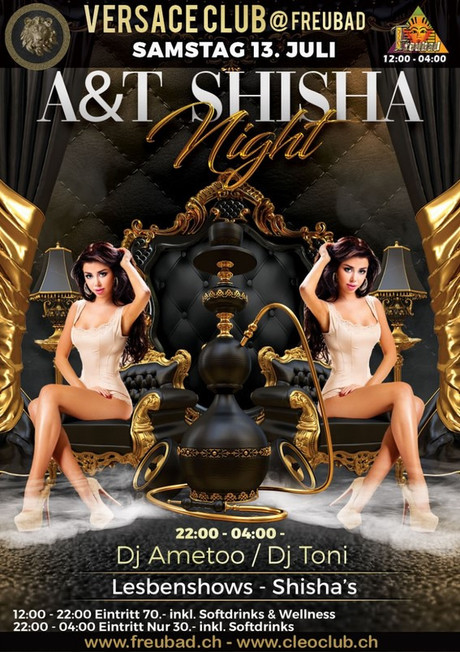 A&T Shisha Night im Sauna / FKK Club FKK Freubad Recherswil (CH) in Recherswil