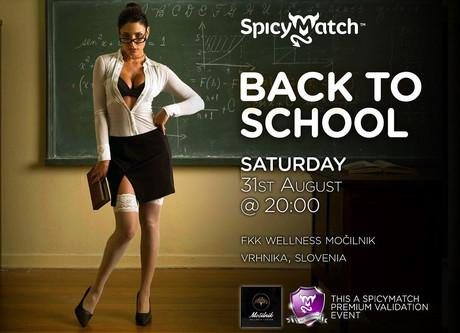 Back to School im Sauna / FKK Club Mocilnik Vrhnika (SLO) in Vrhnika