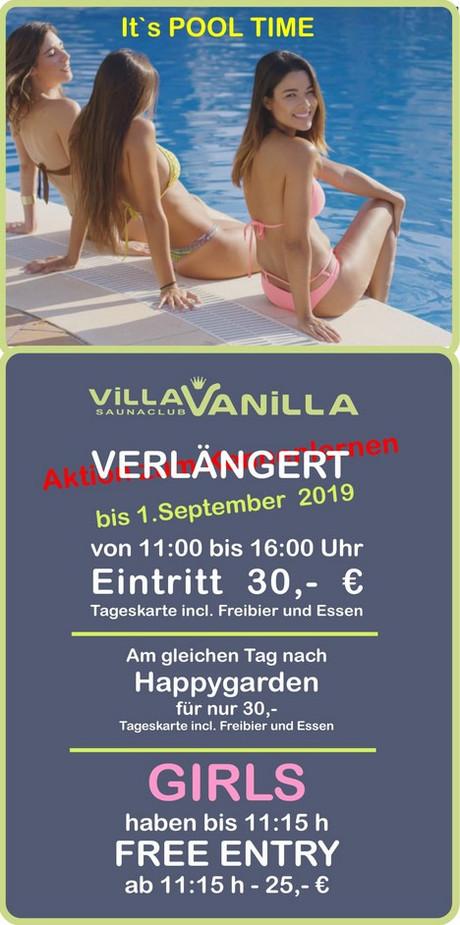 Ticket Special im Sauna / FKK Club Villa Vanilla Grefrath (D) in Grefrath