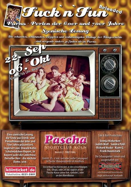 Fuck 'n' Fun Reloaded im Sauna / FKK Club Pascha Nightclub Köln (D) in Köln