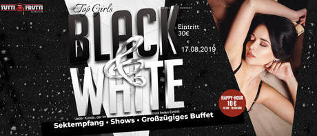 Black & White Party im Sauna / FKK Club Tutti Frutti Alfter/Bonn (D) in Alfter