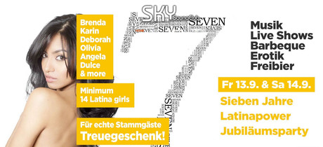 7th Birthday Party im Sauna / FKK Club Sky Wuppertal (D) in Wuppertal