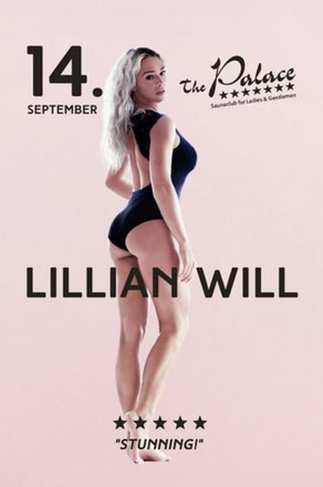 Lillian Will im Sauna / FKK Club FKK The Palace Frankfurt (D) in Frankfurt