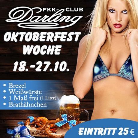 Oktoberfest FKK Darling  im Sauna / FKK Club FKK Darling Nidderau/Frankfurt (D) in Nidderau