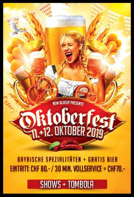 Oktoberfest New Blue-Up im Sauna / FKK Club New Blue-Up Pfäffikon (CH) in Pfäffikon ZH