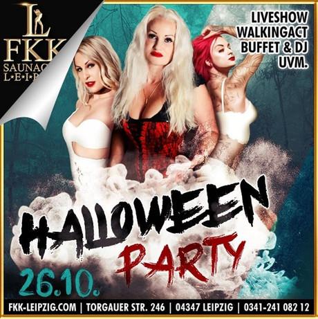 Halloween FKK Leipzig im Sauna / FKK Club FKK Leipzig (D) in Leipzig