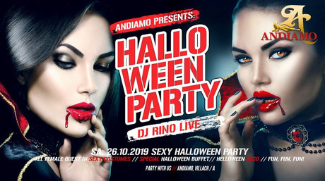 Halloween FKK Andiamo im Sauna / FKK Club FKK Andiamo Villach (A) in Villach