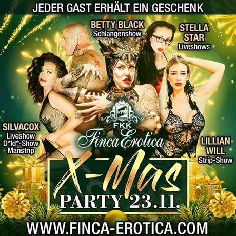 Xmas Party FKK Finca Erotica im Sauna / FKK Club FKK Finca Erotica Dierdorf (D) in Dierdorf