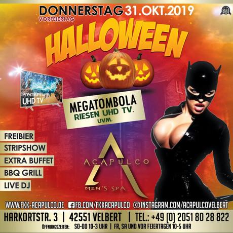 Halloween Acapulco im Sauna / FKK Club Acapulco Velbert (D) in Velbert