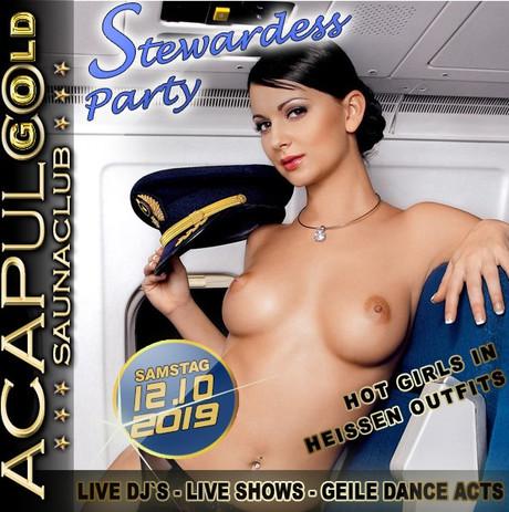 Stewardess Party im Sauna / FKK Club Acapulco Gold Ratingen/Düsseldorf (D) in Ratingen (D)