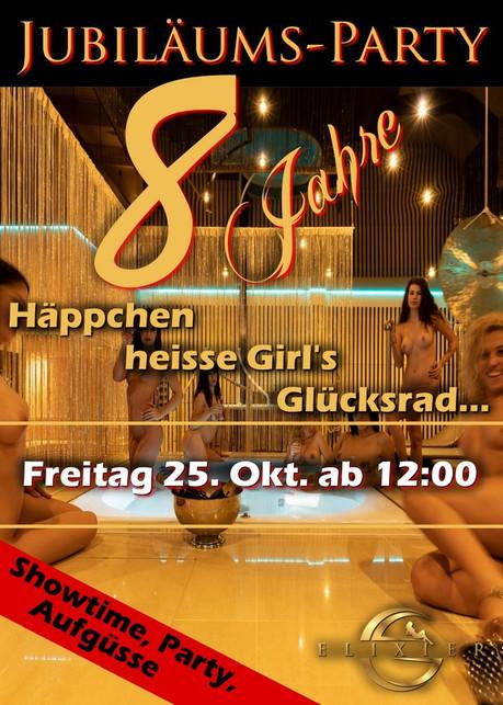 8th Birthday Party im Sauna / FKK Club Elixier Volketswil/Zürich (CH) in Volketswil