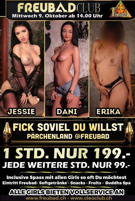 Fick soviel du willst im Sauna / FKK Club FKK Freubad Recherswil (CH) in Recherswil