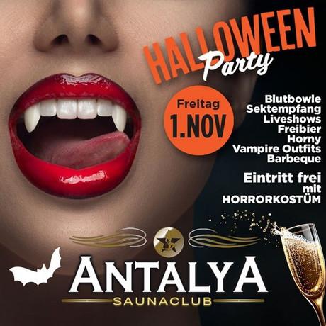 Halloween Antalya im Sauna / FKK Club Antalya Münster (Westfalen) (D) in Münster