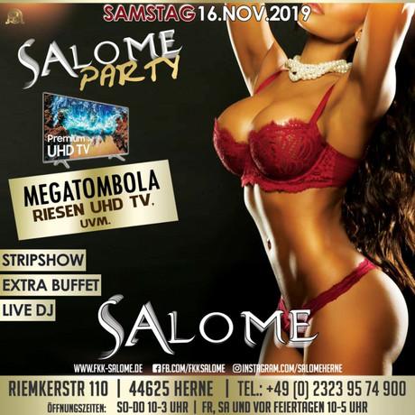 Salome Party im Sauna / FKK Club Salome Herne (D) in Herne