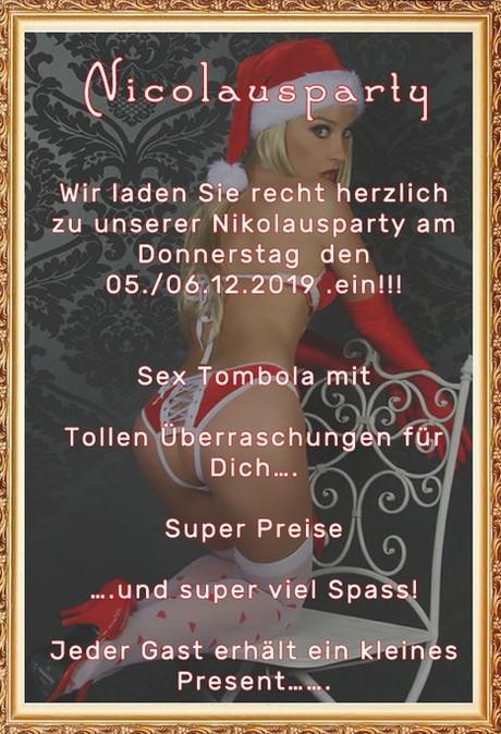 Nikolaus Party FKK Amore im Sauna / FKK Club FKK Amore Freinberg (A)/Passau in Haibach-Oberhaibach bei Freinberg