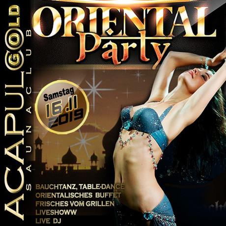 Oriental Party im Sauna / FKK Club Acapulco Gold Ratingen/Düsseldorf (D) in Ratingen (D)