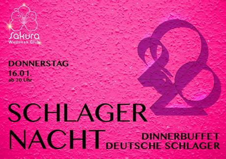 Schlagernacht  im Sauna / FKK Club FKK Sakura Böblingen/Stuttgart (D) in Böblingen