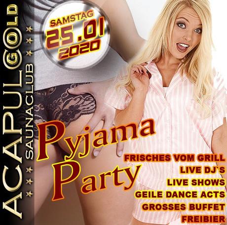 Pyjama Party im Sauna / FKK Club Acapulco Gold Ratingen/Düsseldorf (D) in Ratingen (D)
