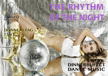 The Rhythm Of The Night im Sauna / FKK Club FKK Sakura Böblingen/Stuttgart (D) in Böblingen