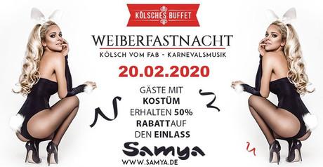 Weiberfastnacht Samya im Sauna / FKK Club Samya Köln (D) in Köln
