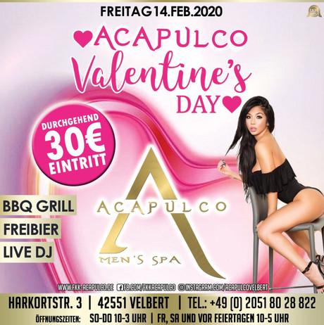 Valentine's Day im Sauna / FKK Club Acapulco Velbert (D) in Velbert