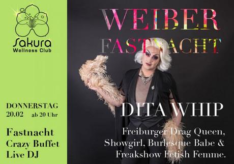 Weiberfastnacht im Sauna / FKK Club FKK Sakura Böblingen/Stuttgart (D) in Böblingen