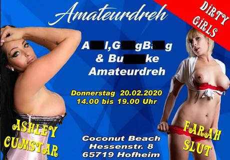 Amateurdreh  im Sauna / FKK Club Coconut Beach Wallau/Hofheim am Taunus (D) in Wallau