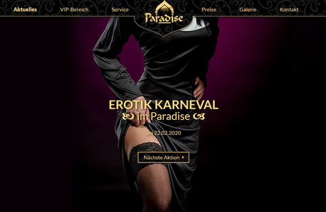 Erotik Karneval im Sauna / FKK Club FKK Paradise Graz (A) in Graz-Liebenau