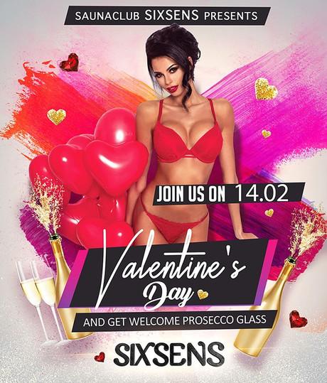 Valentine's Day im Sauna / FKK Club Sixsens Vaals-Lemiers (NL) /Aachen in Lemiers