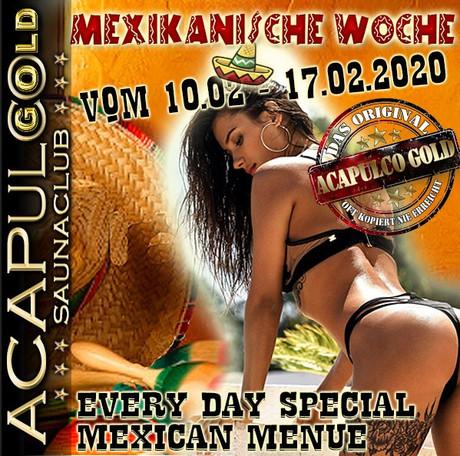 Mexikanische Woche im Sauna / FKK Club Acapulco Gold Ratingen/Düsseldorf (D) in Ratingen (D)