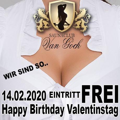 Valentine's Day im Sauna / FKK Club Van Goch (D) in Goch