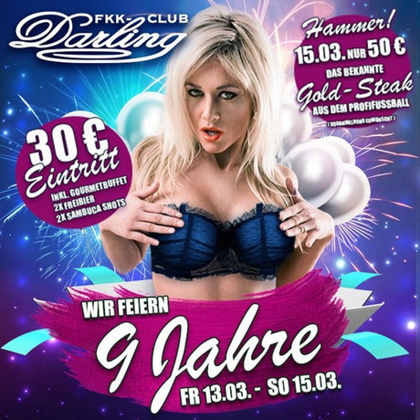 9th Birthday Party im Sauna / FKK Club FKK Darling Nidderau/Frankfurt (D) in Nidderau