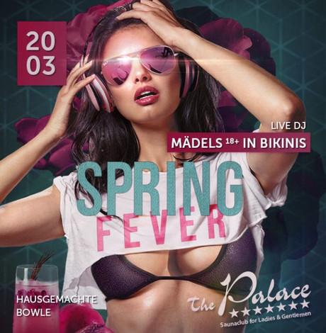 Spring Fever im Sauna / FKK Club FKK The Palace Frankfurt (D) in Frankfurt